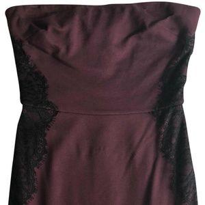Burgundy Night Out Dress by Velvet